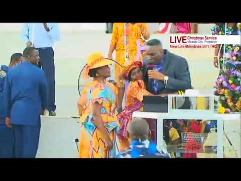 BISHOP J. ARCHIBALD COLE_NEW LIFE MINISTRIES HQ CHRISTMAS DAY SERVICE 25TH DECEMBER 2017 ytv