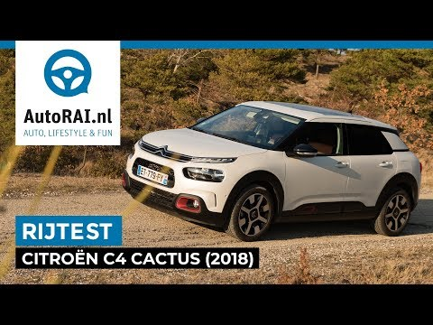 Citroën C4 Cactus (2018) - AutoRAI TV - REVIEW