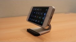 Review: iPhone 5 Stand - Bluelounge Milo