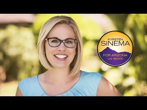 Kyrsten Sinema for Arizona | Senate Campaign Announcement