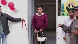 Inauguración de planta de lácteos en Huallanca