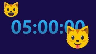 5  Hour Timer Countdown with 15 min LOUD ALARM ⏱ @TimerClockAlarm