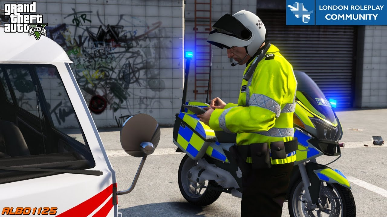 Stealy Wheely Automobiley: Modders play as London cops in GTA V