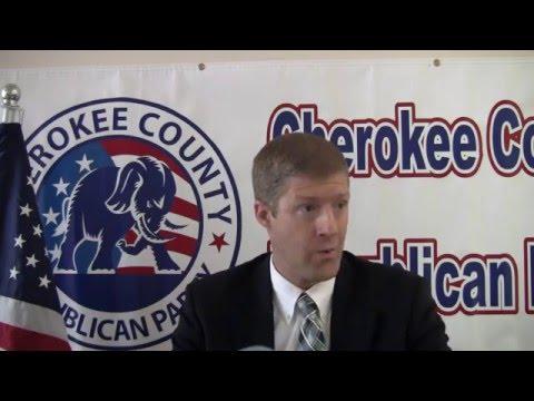 2016 - Aaron Barlow - Senate District 21 - CCRP Interview
