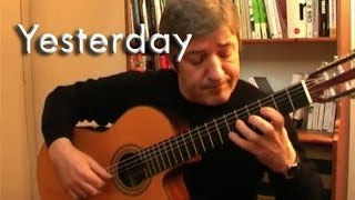 Yesterday - The Beatles for Fingerstyle Guitar by Frédéric Mesnier