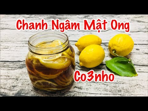 Chanh Ngâm Mật Ong – Honey Lemon Honey Lime – Co3nho 213