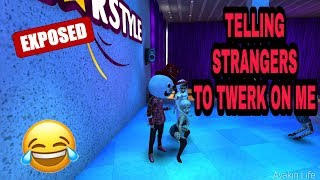 Avakin Life Twerk on me Prank (Gone Right)