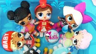 Ляльки ЛОЛ СЮРПРИЗИ 2 Малятка змінюють колір Кульки з пупсами L. O. L. Surprise Ball Toys