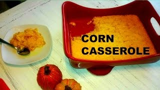 Corn Casserole Great Side Dish