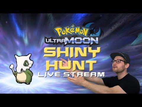 🔴 SHINY HUNT! CATCHING CUBONE WITH MASUDA METHOD! Pokemon Ultra Moon Live Stream
