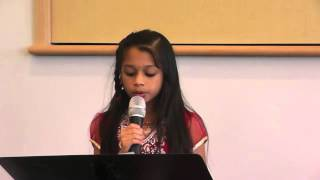 Ananya sings 'Varsham Munduga..' from Sega at TANTEX Vasantha Gana Sourabham