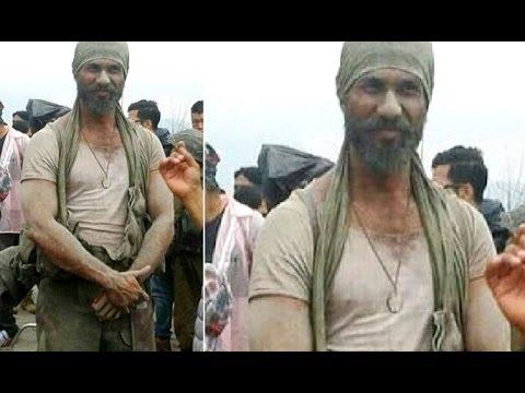 Rangoon Movie - Shahid Kapoor Unbelievable New Look Leaked