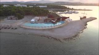 Dji Phantom 3 over Solaris Beach Resort in Sibenik (Croatia)