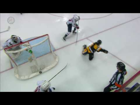 Beagle saves day diving to stop Penguins series clinching goal