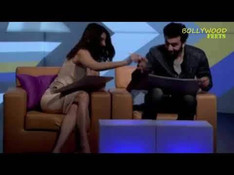 Sexy Anushka Sharma Feet Dangling In Sandals