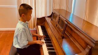 Newtown Suzuki Music School, Piano Book 1 Graduation, Teacher Anh Rozamn