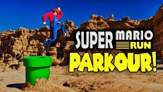 Super Mario Run Meets Parkour in Real Life! in 4K!(Watch our Mario Kart in Real Life video here: https://youtu.be/9QRXtA4I8aQ This video featured Parkour/free run athlete Calen Chan! Check out his youtube ..., 2016-12-22T15:41:41.000Z)