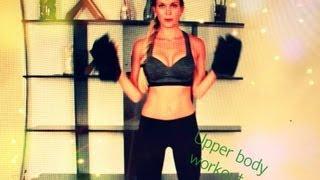 Тренировка 4 для похудения/ Верхняя часть/ Upper body workout