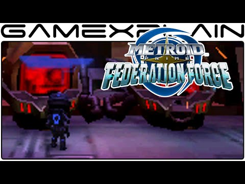 Metroid Prime: Federation Force - Platforming Outside the Mech (Mission 6 Gameplay)