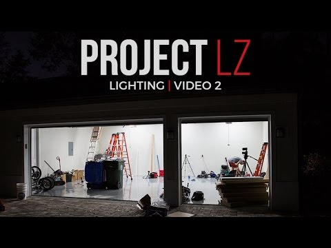 The LZ Garage Project:  Lighting Video 2