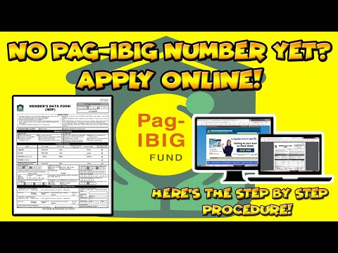 How To Get Pag-Ibig ID Number Online? Here's The Step By Step Procedure 2019.