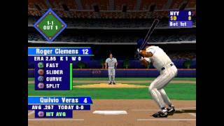 MLB 2000 ... (PS1) 60fps