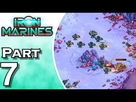 Iron Marines - iOS - Gameplay - Walkthrough - Let's Play - Part 7