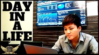 Day in a Life of A Forex Trader & CEO (PURE HUSTLE!)