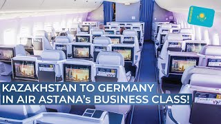 TRIPREPORT | Air Astana (BUSINESS CLASS) | Boeing 767-300 | Astana - Frankfurt