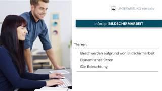 Bildschirmarbeit - Ihr Arbeitsplatz - Unterweisung interaktiv - Universum Verlag GmbH