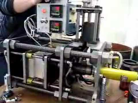 Prototyping silicone injection machine - 2 - YouTube