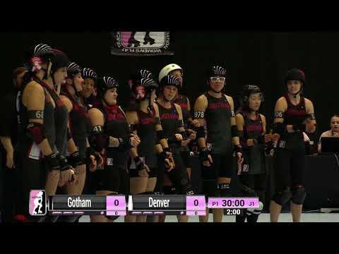 2017 International WFTDA D1 Playoffs: Malmö - Game 16: Gotham vs Denver