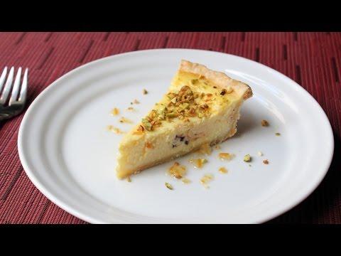 Ricotta Pie Recipe - How to Make Ricotta Cheesecake