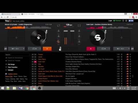 You.dj Tutorial(Best Online Mix Ever) ft.dj shouvik