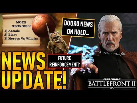 NEWS UPDATE: MORE GEONOSIS, NO DOOKU NEWS YET & MORE! Star Wars Battlefront 2 thumbnail