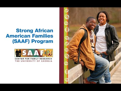 The Strong African American Families Program Improves Lives Of Rural African American Youth
