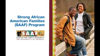 The Strong African American Families Program Improves Lives of Rural African American Youth thumbnail