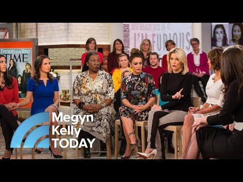 Download Youtube: TIME Magazine's Person Of The Year Silence Breakers : 'We're Finding Our Voices' | Megyn Kelly TODAY