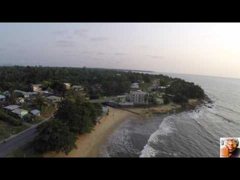 Kribi and Lobé waterfalls by drone