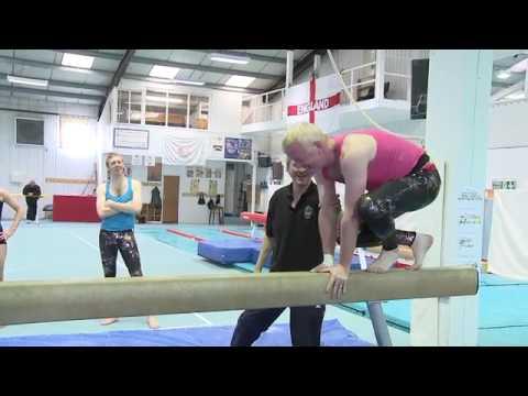 Sporting Challenge  - Gymnastics - Chris Evans Breakfast Show BBC Radio 2