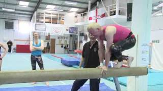 Sporting Challenge  - Gymnastics - Chris Evans Breakfast Show BBC Radio 2