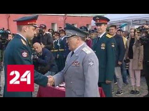 Выпускники Военно-медицинской академии принесли клятву Гиппократа