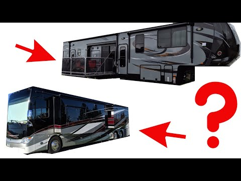 WHY I BOUGHT A CLASS A RV OVER A 5TH WHEEL AFTER OWNING 4 RVS