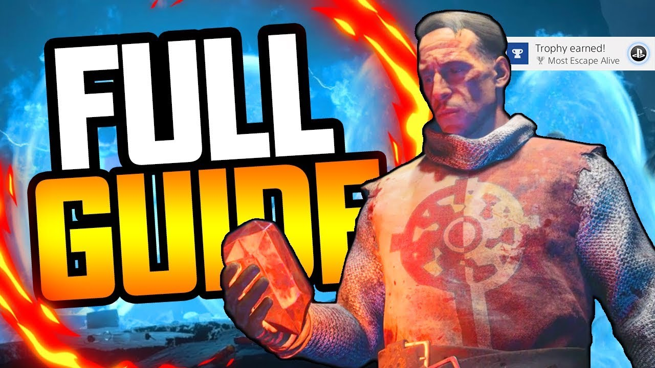 BLOOD OF THE DEAD - FULL MAIN EASTER EGG TUTORIAL GUIDE WALKTHROUGH (BLACK OPS 4 ZOMBIES EASTER EGG)