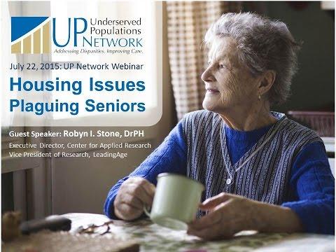 Housing Issues Plaguing Seniors