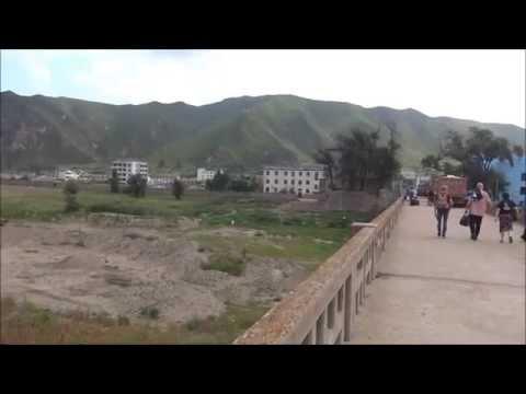 Crossing Border from China (Tumen) to North Korea (Namyang) on Foot 中朝国境を徒歩で渡る