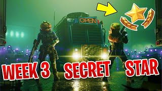 Fortnite Saison 10 Semaine 3 Secret BattleStar Location Guide - Hidden Battle Pass Star Royale Found!!