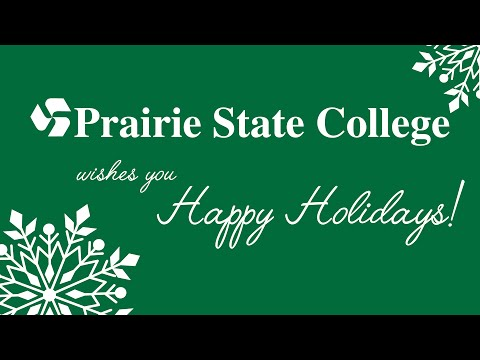 Holiday Greetings from Prairie State College