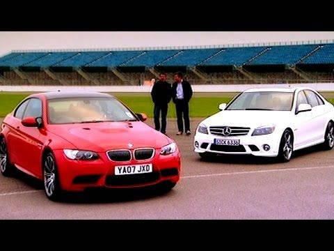 BMW M3 vs Mercedes Benz C63 AMG