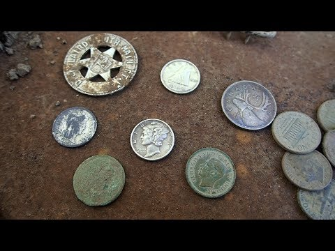 Metal Detecting! - Found Unmarked Grave Stones and Colonial Shoe Buckle.